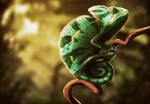 chameleon by Silych
