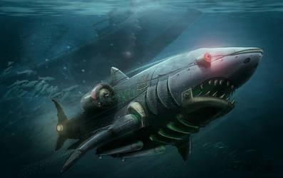 Sharkmachine 2 by Silych
