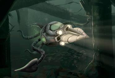 Mechanical squid