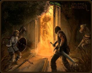 Predator VS Barbarians by Silych