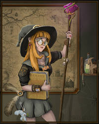 Witch by Silych