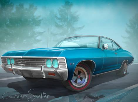 Car 1967 Chevy Impala SS