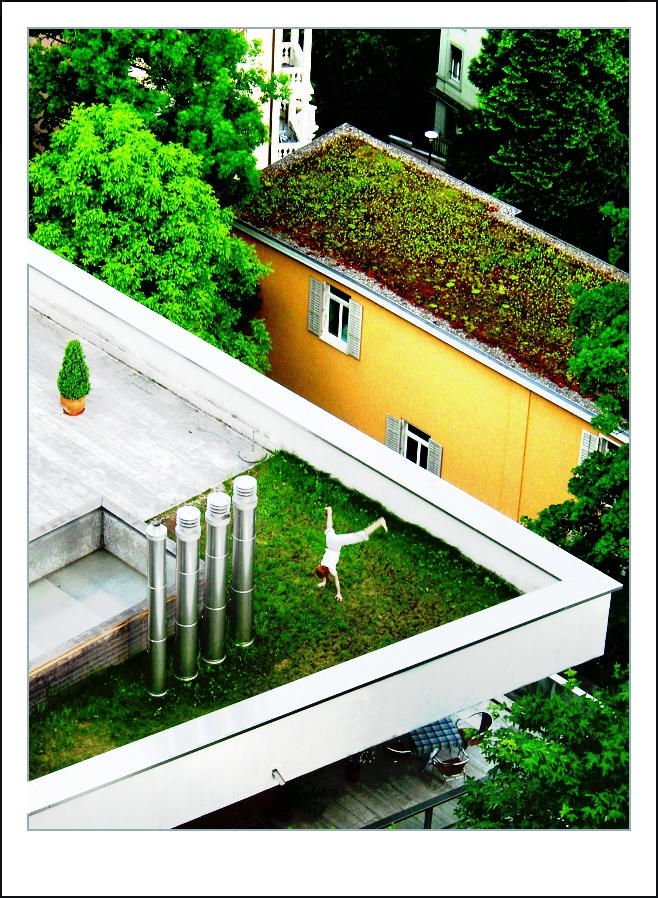 Rooftop Gymnastics... by almostAMAZING