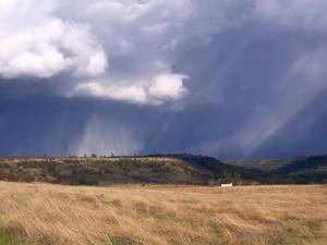 Rainy Hillside