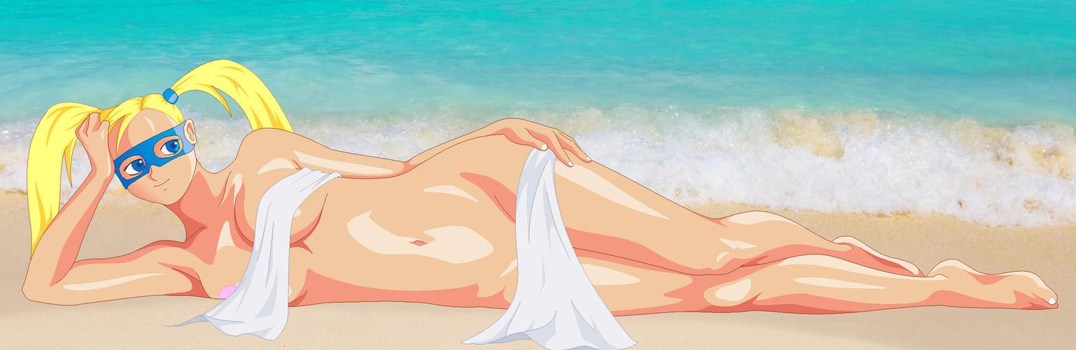 Ocean shore Mika by txsnew