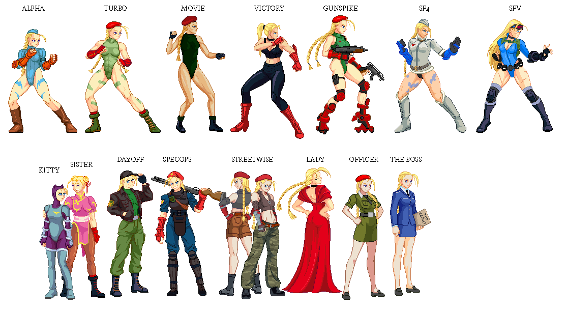 Evolution of Cammy 2 by txsnew