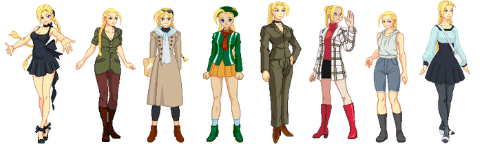 Cammy casual by txsnew
