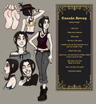 Cassie Character Sheet and Introduction!