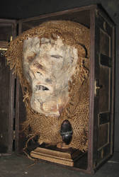 Mummified Monk Head Gaff 3 by DETHCHEEZ