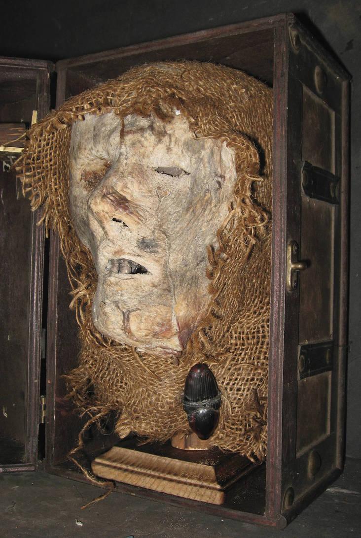 Mummified Monk Head Gaff 3 by DETHCHEEZ