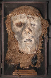 Mummified Monk Head Gaff 2 by DETHCHEEZ