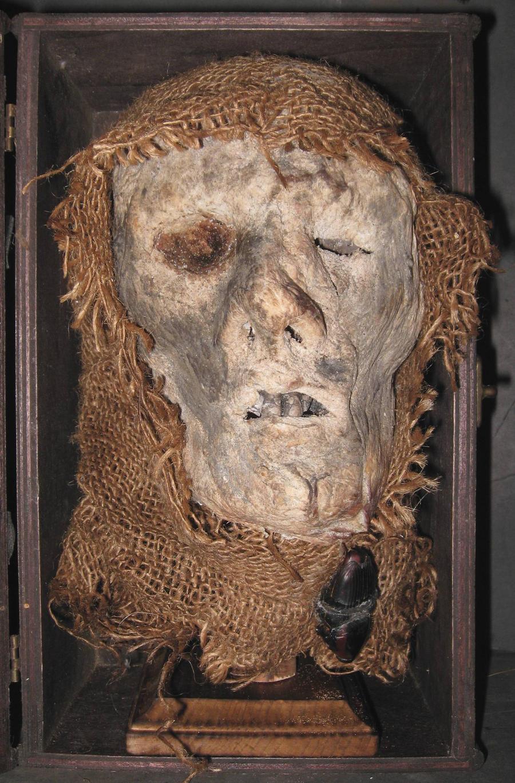Mummified Monk Head Gaff 2 by DETHCHEEZ