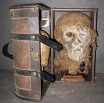 Mummified Monk Head Gaff 1 by DETHCHEEZ