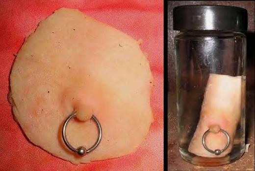 Skinned Human Nipple Gaff 2 by DETHCHEEZ