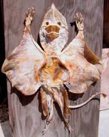 Mummified Alien MothMan 2 by DETHCHEEZ