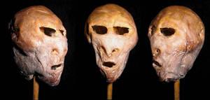 Mummified Alien Head GAff 3