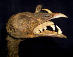 Evil Devil Turkey Head Gaff CU by DETHCHEEZ
