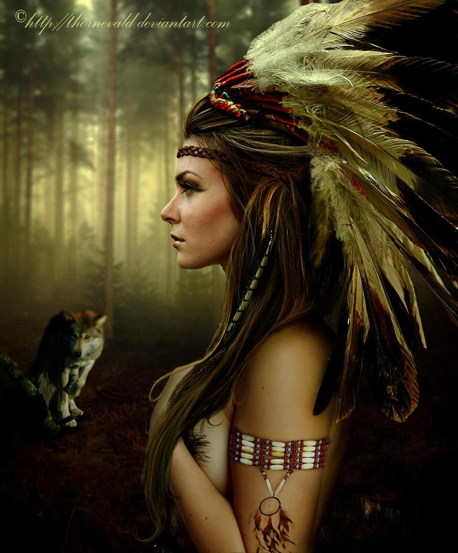 Native american by thornevaldAmazon Native Women