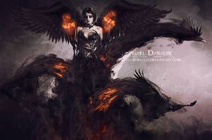 The Lady Raven by thornevald