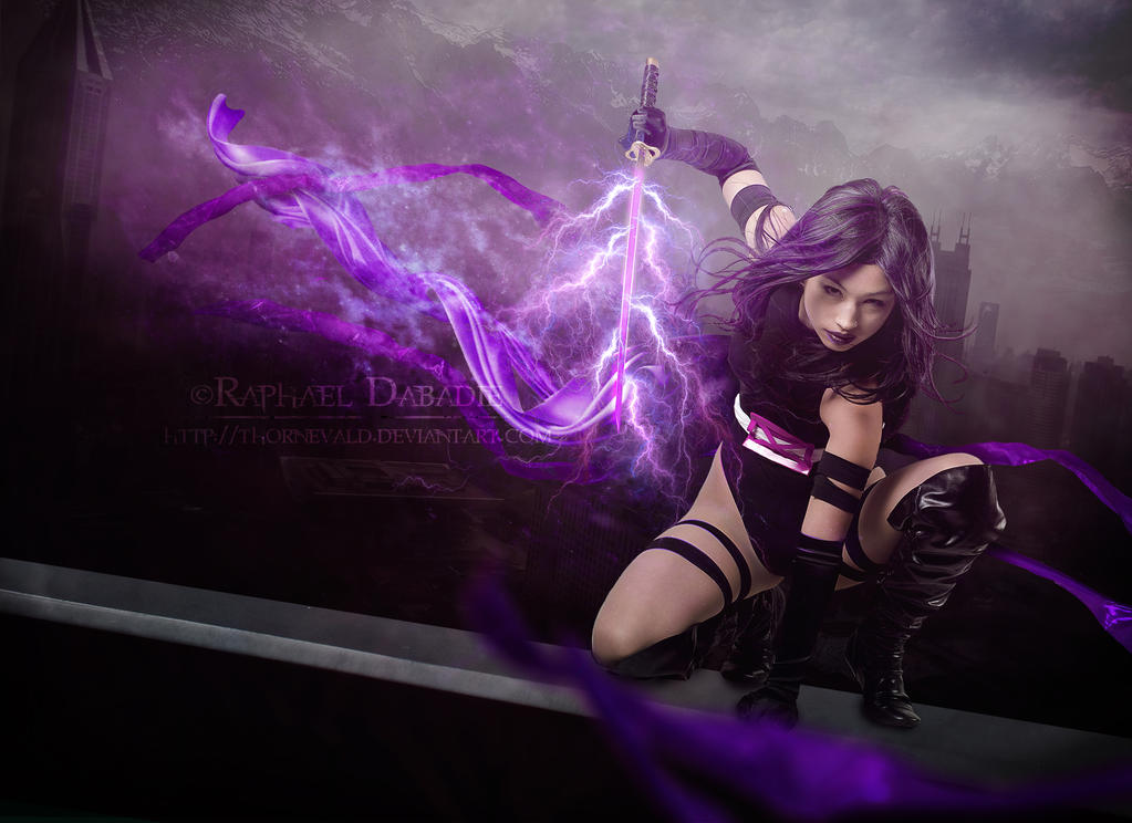 X Men Psylocke By Thornevald
