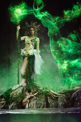 Goddess of the Earth by thornevald