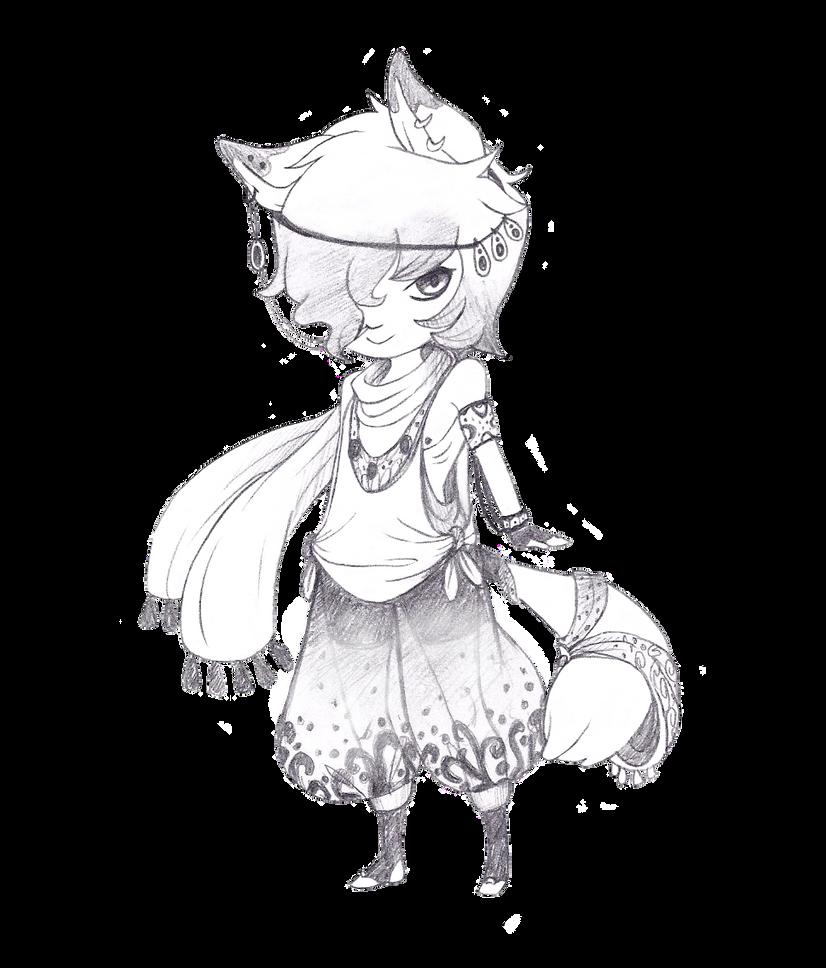 Puffy Pants Adopt~ [CLOSED] by vwv-vwv