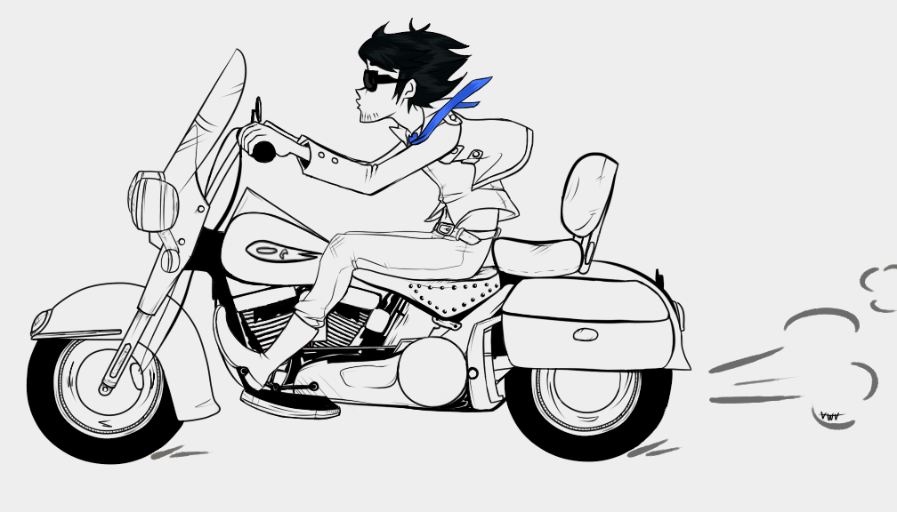 Line Art Motorcycle : Bjc motorcycle line art by vwv on deviantart