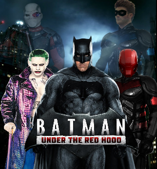 Batman Under The Red Hood Movie Poster Concept By SavageComics