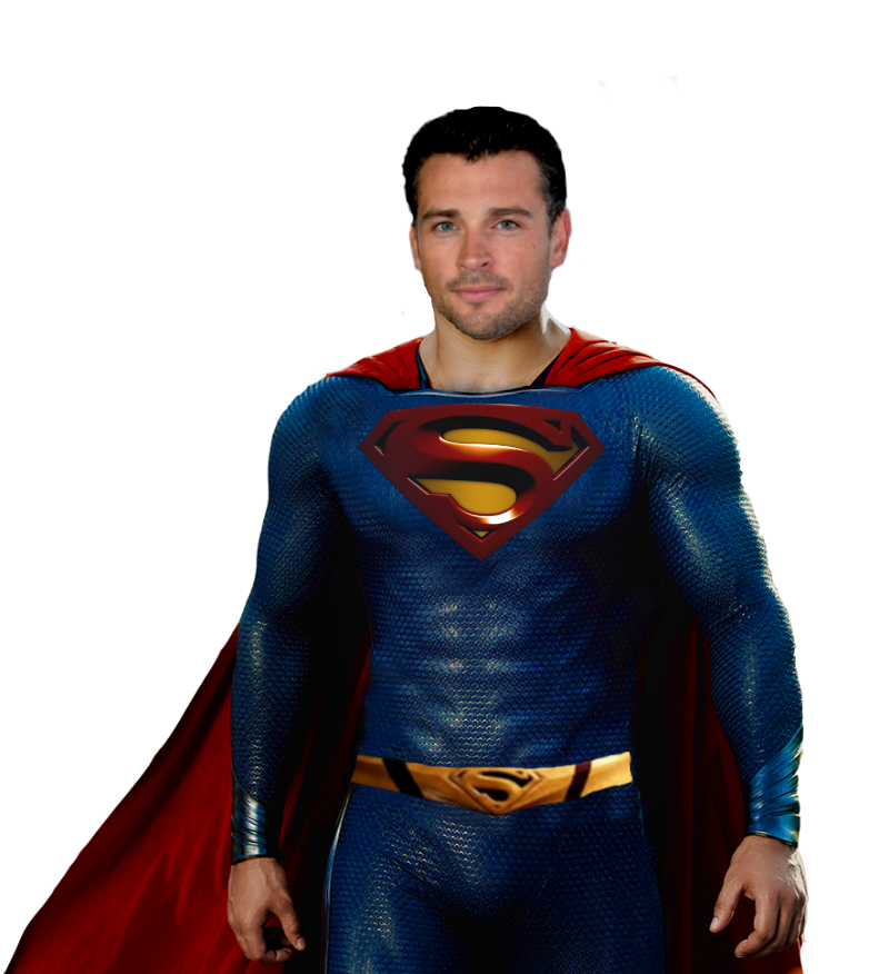 Tom Welling Smallville Superman Transparent by ...