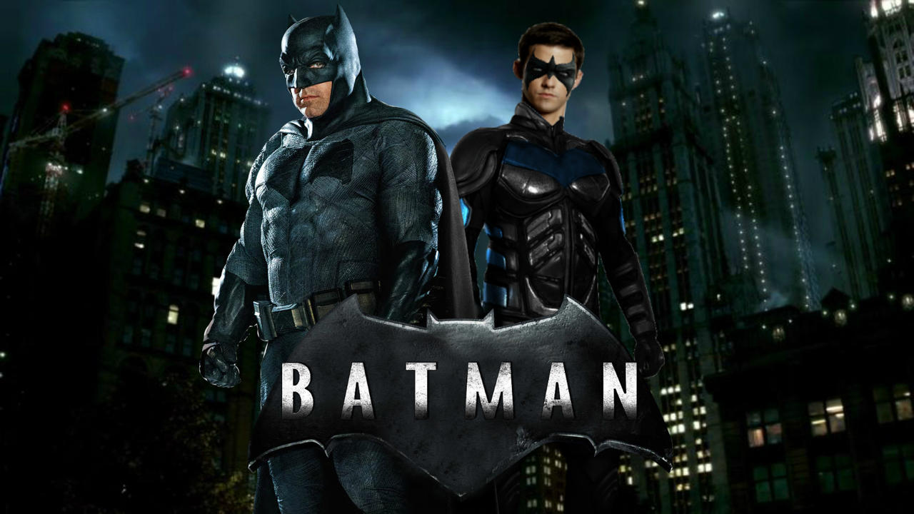 Batman and nightwing movie