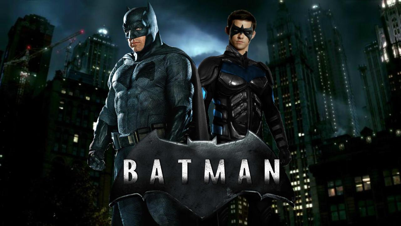 Batman and nightwing movie