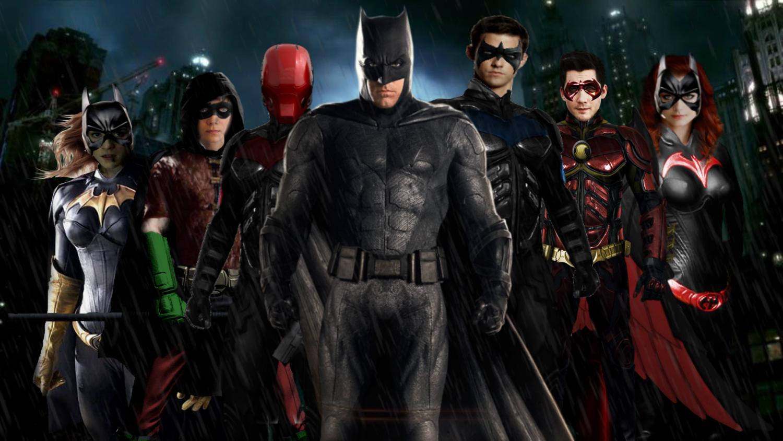 DCEU Batman Family! (update) by SavageComics on DeviantArt