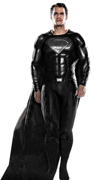 Download The Image Of The Evil Superman With Black Suit: Superman (Black Suit) Transparent By SavageComics On