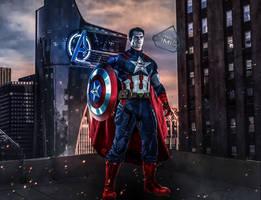 Super Captain/Super Soldier  by SavageComics