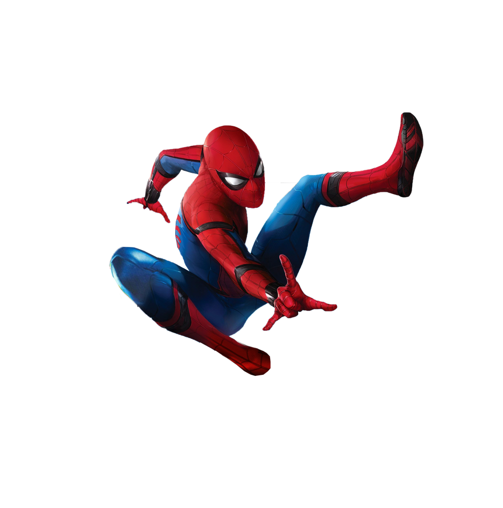 3d spider man transparent - photo #12