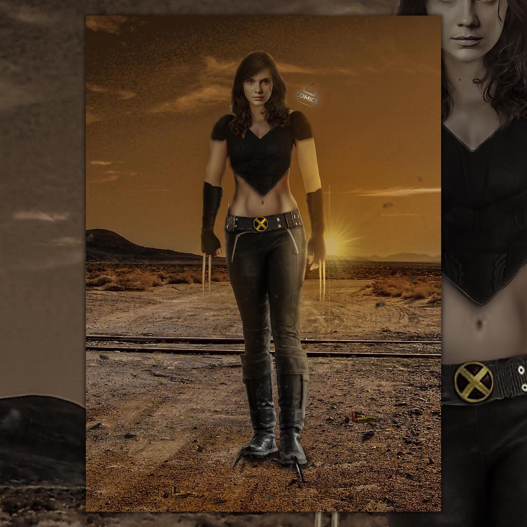 Future X-23 concept  by SavageComics