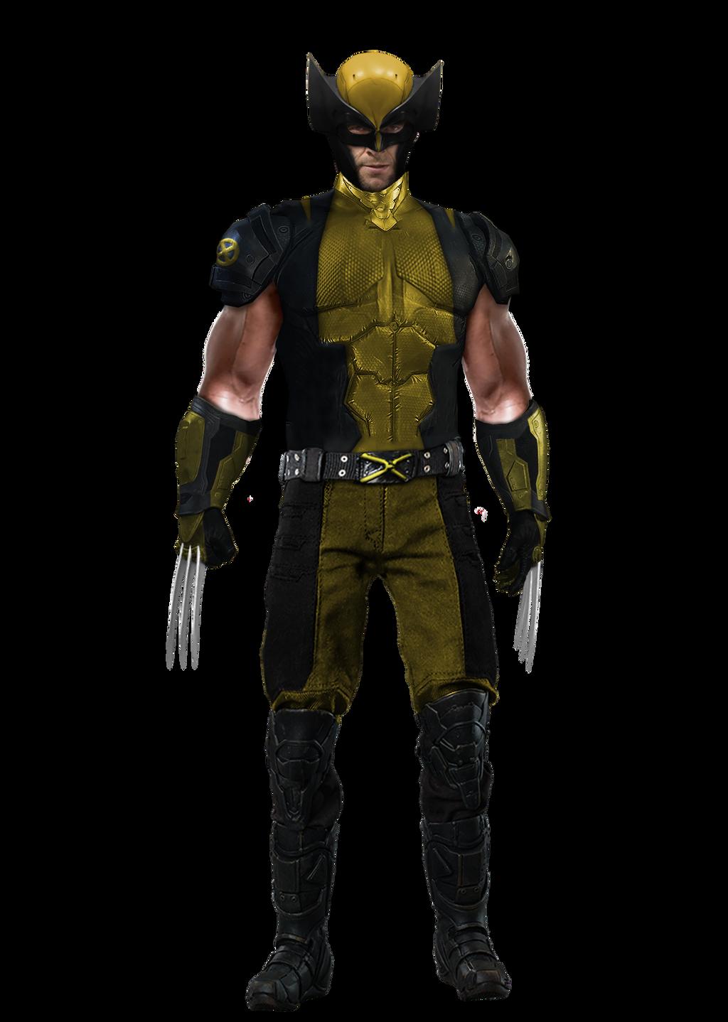 Hugh Jackman Wolverine Classic Suit - Transparent by ...