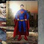 Tom Welling Superman - Season 11 suit