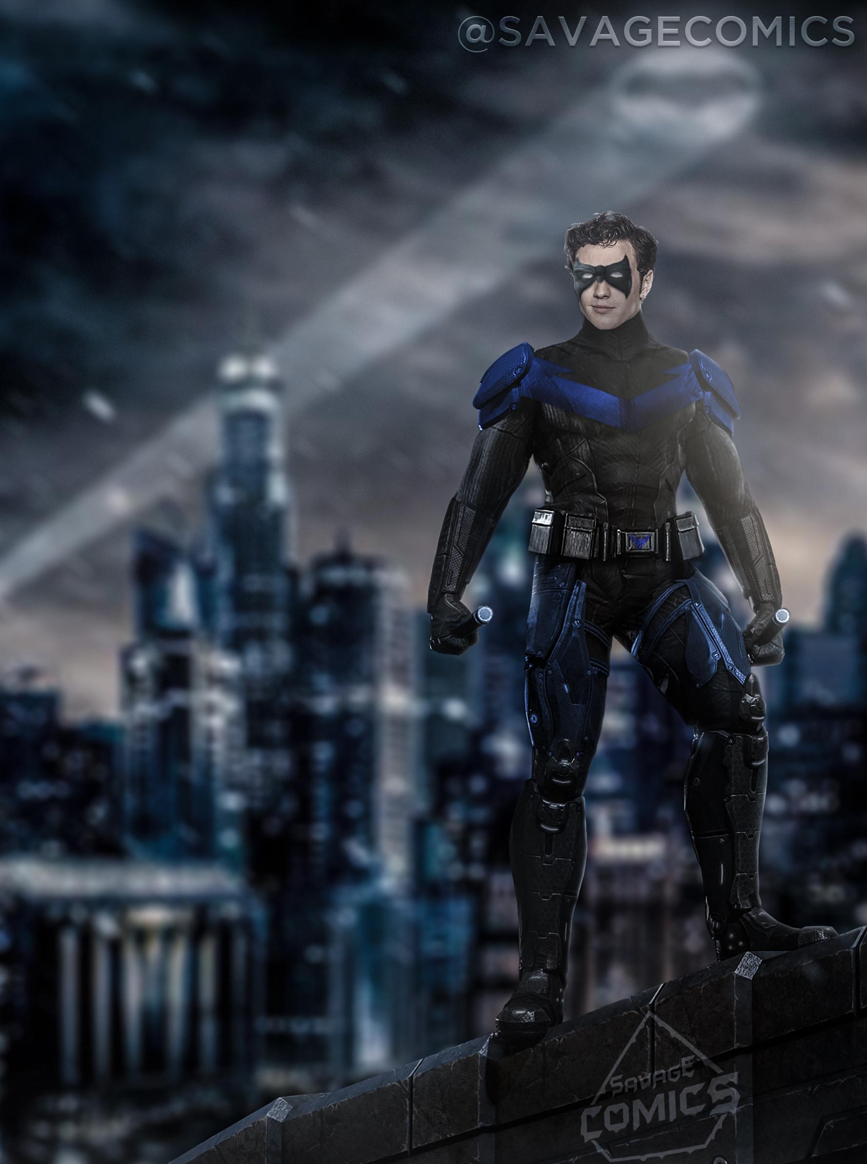 Dceu Nightwing - Aaron...