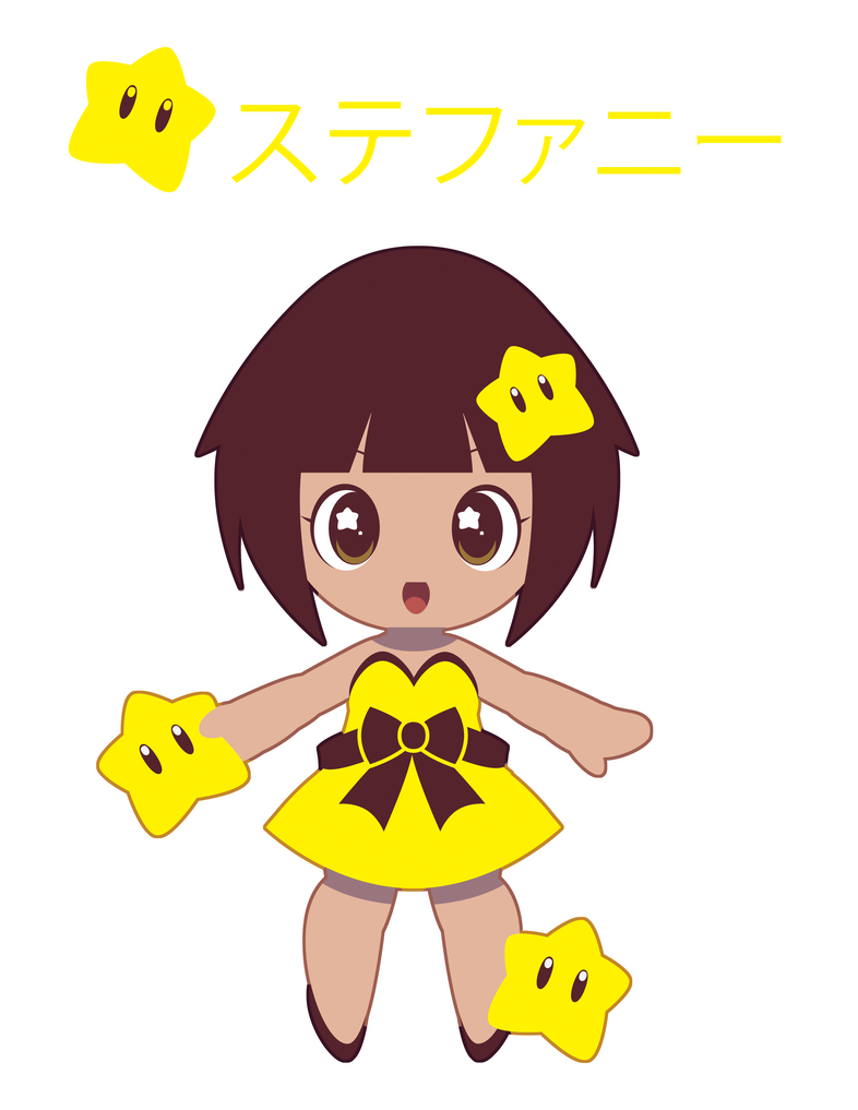 Starman Gijinka Girl for FB Friend ::GIFT:: by Itachi-Roxas