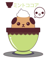 Mint Chocolate Mameshiba ::GIFT::