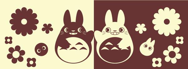 Totoro Facebook Cover Design ::FREE:: by Itachi-Roxas