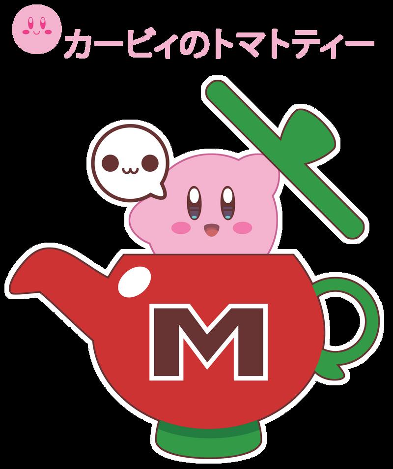 Maxim Tomato Tea Kirby ::COMM:: by Itachi-Roxas
