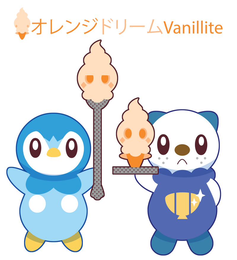 Orange Dream Vanillite ::COMM:: by Itachi-Roxas