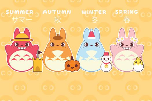 Four Seasons of Totoro