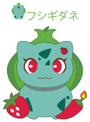 Chibi Bulbasaur ::GIFT:: by Itachi-Roxas