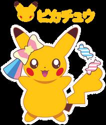 Candy Pikachu ::GIFT:: by Itachi-Roxas