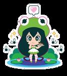Tsuyu x Kermit Lolita