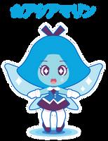 Chibi Aquamarine by Itachi-Roxas