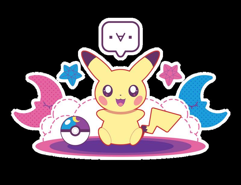 Twin Moon Pikachu ::GIFT:: by Itachi-Roxas